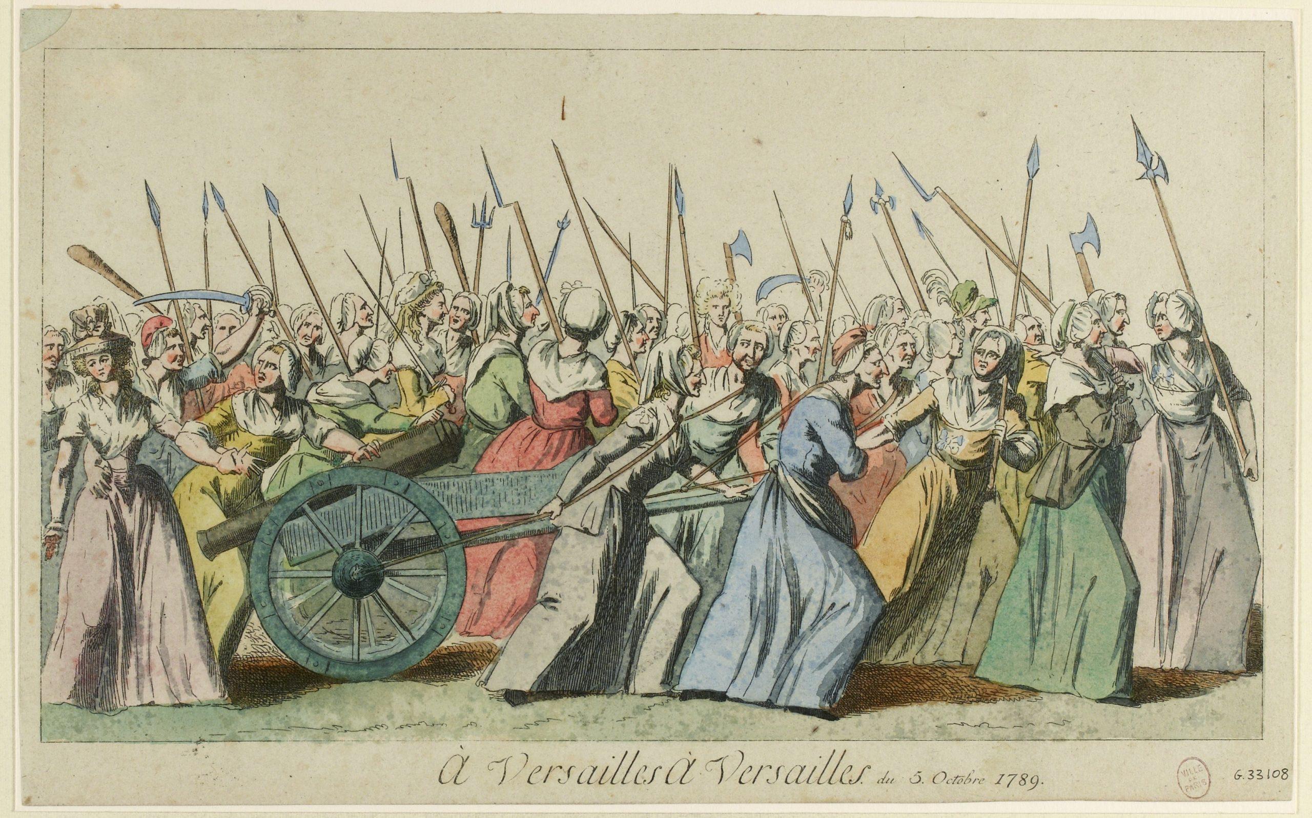 A Versailles, à Versailles du 5 Octobre 1789(TI)